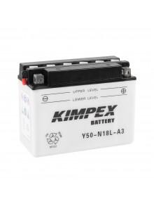Kimpex Batterie YuMicron Y50-N18L-A3
