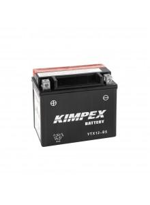 Kimpex Batterie AGM sans entretien YTX12-BS