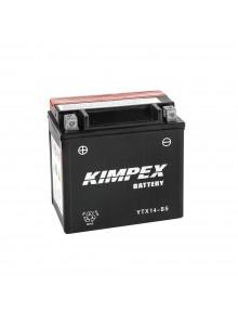 Kimpex Batterie AGM sans entretien YTX14-BS