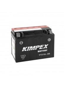 Kimpex Batterie AGM sans entretien YTX15L-BS