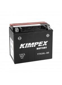 Kimpex Batterie AGM sans entretien YTX20L-BS
