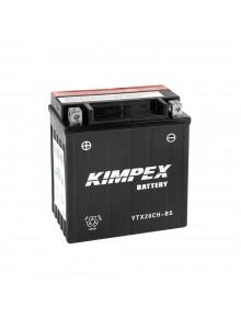 Kimpex Batterie Haute Performance AGM sans entretien YTX20CH-BS