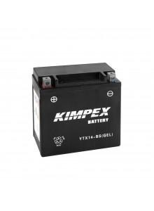 Kimpex Batterie AGM sans entretien YTX14-BS(GEL)