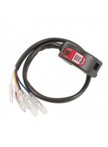 Trailtech Interrupteur de lumière pour guidon avec interrupteur d'urgence intégré Glisseur - 204369
