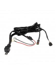 Dragon Fire Racing Faisceau de câblage pour barre lumineuse/boîtier à DEL Fil de lumière DEL - 318100