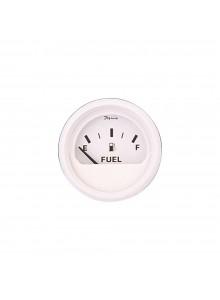 Faria Indicateur de niveau d'essence série tout-blanc Bateau - 705857